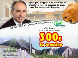 Jean François Coppé aime les vacances pas chère de Cantal Emotions