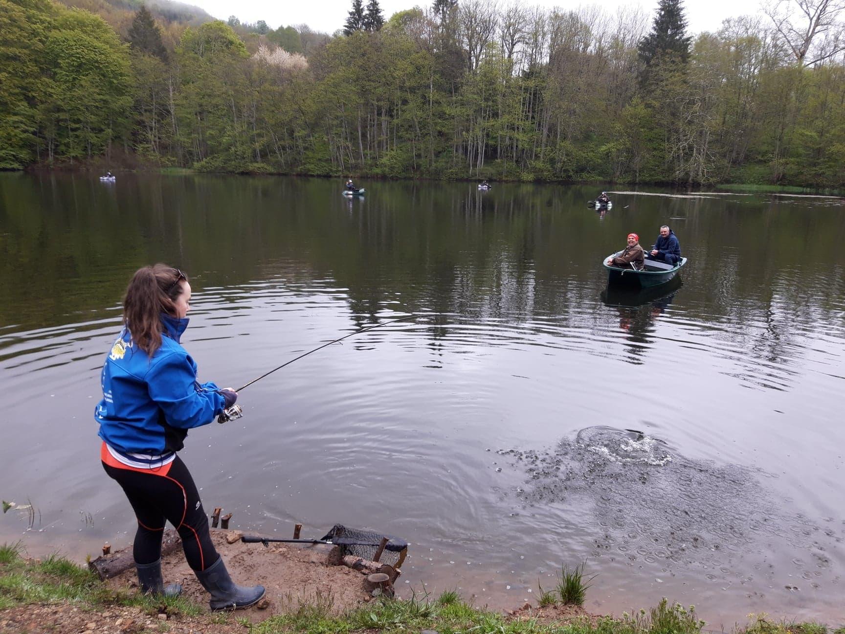 Les techniques de pêche de Truite Area