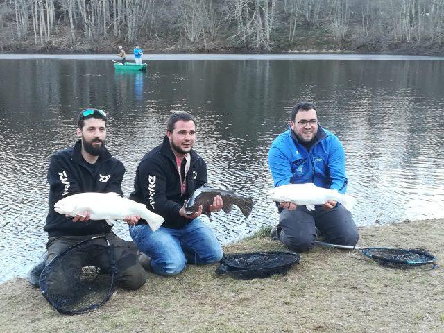 Pêche dans le Cantal