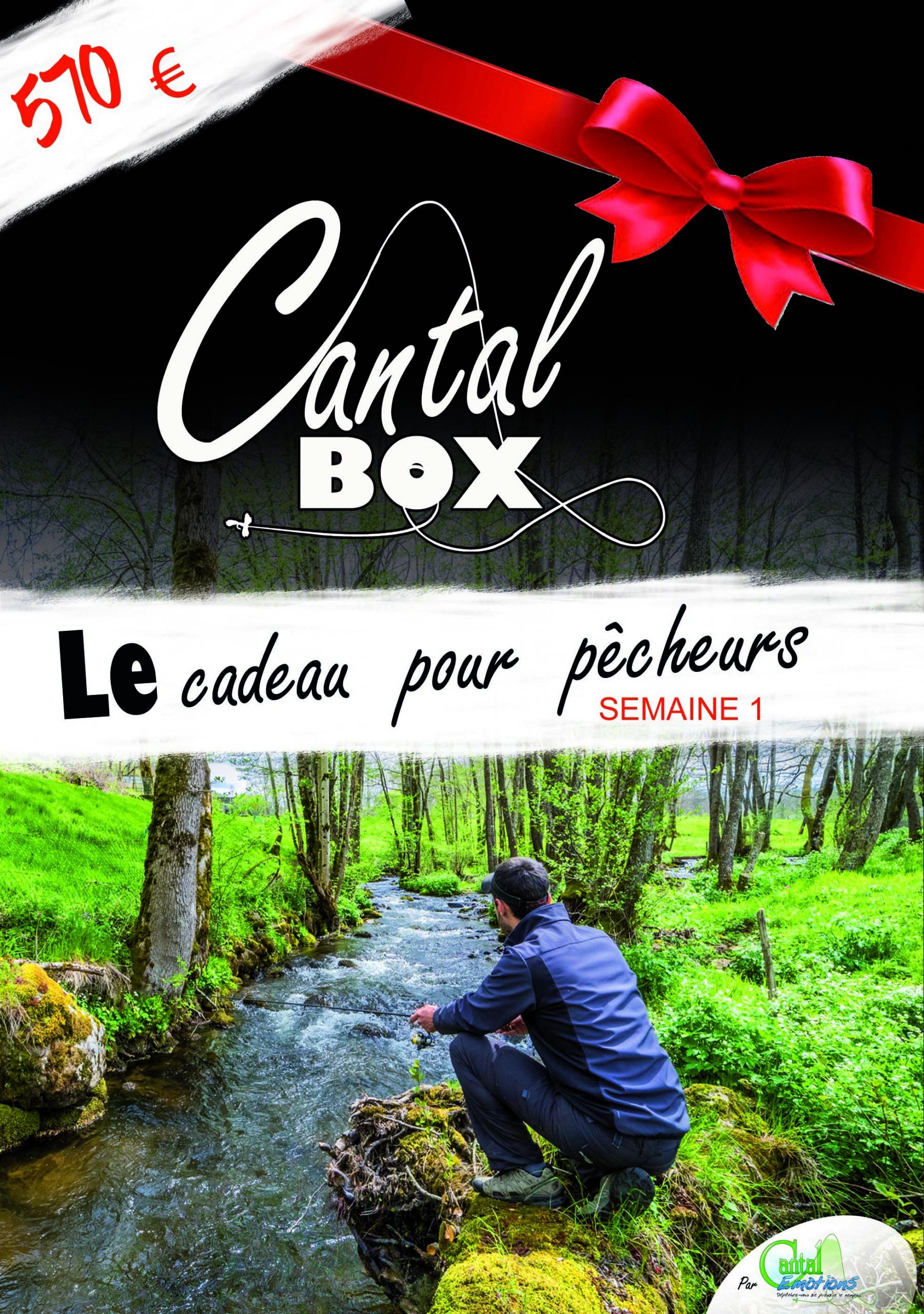 Semaine pêche dans le Cantal