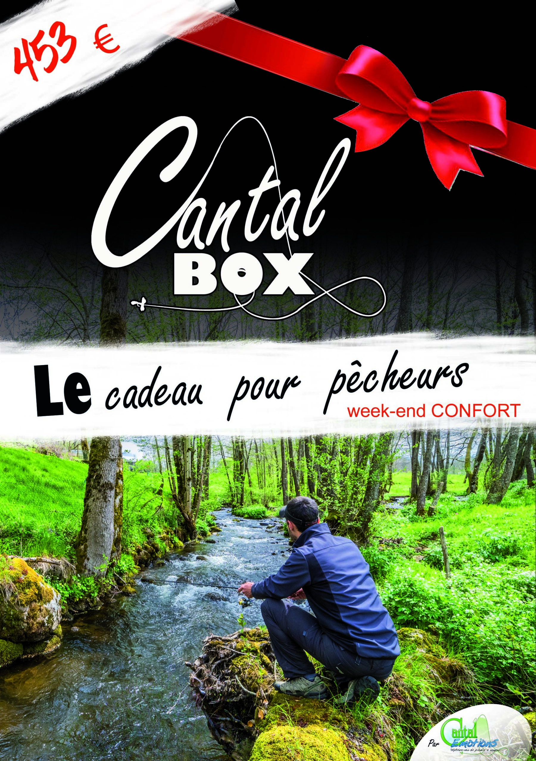 Week-end apprentissage de la pêche en rivière dans le Cantal