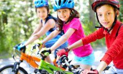 Voie verte, une piste pour les familles dans le Cantal
